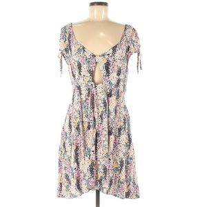 Free People Floral Cut Out Dress